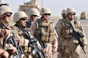 US Navy Seabees train at Tarnak Weapons Range