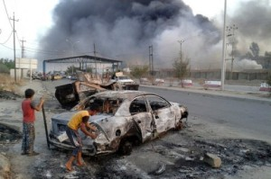 Iraq destruction