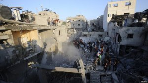 Gaza destruction