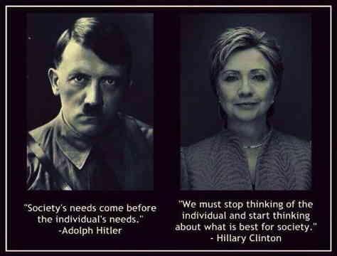 Hitler : Clinton