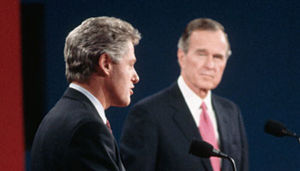 Bush-Clinton debate
