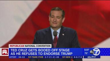 Ted Cruz at RNC